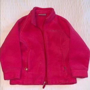 Pink Columbia Fleece